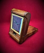 More details for very rare imhof travel swiss alarm clock 8 days