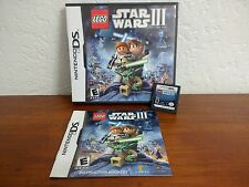 LEGO Star Wars III The Clone Wars Nintendo DS Game 2011 COMPLETE