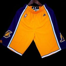 100% Authentic LA Lakers Adidas Swingman Jersey Shorts Size S ( kobe bryant )