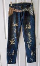 Unbranded Denim High Waist Machine Washable Jeans for Women