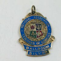 Vintage National Association Teachers of Dancing Medal Ballroom Silver 1971