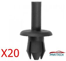 20x AUDI BMW CITROEN DAEWOO FORD PASSARUOTA COPERCHIO elementi di fissaggio Clip in plastica Trim