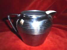 Mid Century Modern Kitchen Chrome Creamer Pitcher Stamped General Electric