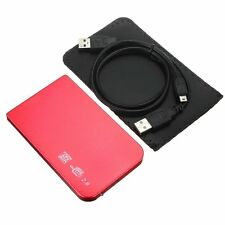"USA 2.5"" SATA USB 2.0 Laptop Hard Drive HDD Enclosure External Case"