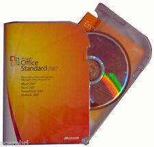 Microsoft Office STANDARD 2007 BOX Vollversion+Zweitnutzungsrecht+CD/DVD DEUTSCH