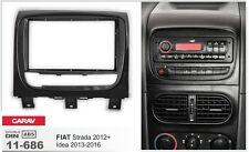 CARAV 11-686 2-DIN Car Radio Dash Kit panel for FIATStrada 2012+