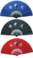 Deluxe Tai Chi Kung Fu Martial Arts Fan Bamboo