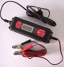 Absaar ATEK 4000 6/12 V 4 Amp intelligentes Ladegerät LCD Display Auto Motorrad