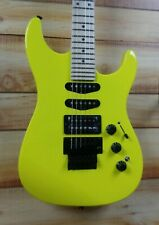 New Fender® MIJ Limited Edition HM Strat Maple Fingerboard Frozen Yellow wGigbag