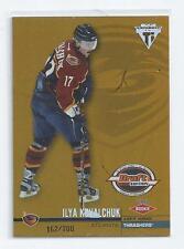 Ilya Kovalchuk 2001-02 Titanium Draft Day Edition Rookie Card #105