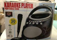 Emerson GP298R Portable CD/CDG Karaoke Player MP3 Compatible w/microphone   ANB