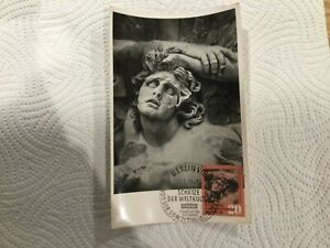 East Germany / DDR - Maxi Card, Treasures of the World, Sculpture 13 March 1959
