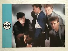 Simple Minds Jim Kerr 1983 Poster Anabas England
