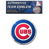 New MLB Chicago Cubs Car Truck Suv Aluminum Color Emblem Decal