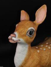 Edward Marshall Boehm Porcelain FAWN 400-90 Horse & Feather Logo Deer