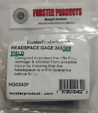 Forster 308 Winchester Field Headspace Gauge New - also does 243 Win & 7Mm-08