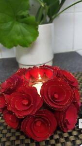 Handcrafted Roses Candle Holder Landon Tyler