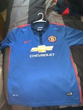 Nike Dri Fit Manchester United Wayne Rooney Football Soccer Jersey Kit Large