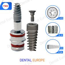 X Implante dental nuevo hexágono interno certificado CE / FDA Certificado...