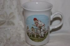 Churchill Mug Cup Tasse à café Cricket Bat's Man Fielding Wicket Keeper