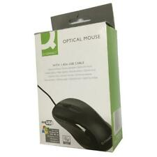 More details for q-connect black scroll wheel mouse