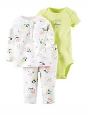 Carter's Baby Girls 3-Piece Outfit Set Size 6 Months