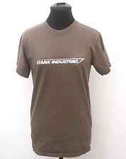 Khaki Iron Man Stark Industries t-shirt size S