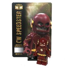 LEGO Custom PAD Printed CW Inspired Future Flash Minifigure Minifig