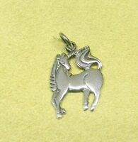Handmade 925 Sterling Silver Unicorn Pendant Sold Without Chain / Necklace