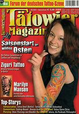 Tätowier Magazin 5/2004 Mai,Marilyn Manson Motive,Peter Ziguri,Buenos Aires,
