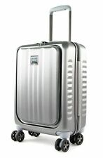march Fly Cabin Business Trolley Trolley Silver Brushed Silber