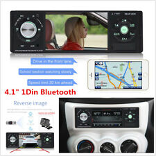 4.1 Inch 1 Din Car MP5 Player Audio Stereo Bluetooth USB AUX-IN FM Radio +Remote