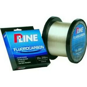 P-Line SFCF-10 Fluorocarbon Clear 10 Lb 250 Yd Fishing Line