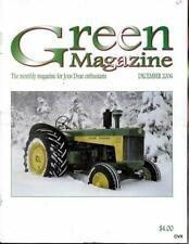 John Deere Green Magazine December 2006 Featured Models 644 & Styled D Tractors