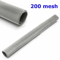 """200 Mesh 75 Micron 304 Stainless Steel Fine Pollen dry Ice Screen 12x24"""""""