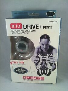 NEW - MIO Drive + Petite ECG Accurate Strapless Heart Rate Watch - open box
