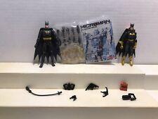 Batman Batgirl Microman Micro Action Series