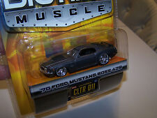 Jada Toys Wave 1 Dub City 2004 Big Time Muscle '70 Ford Mustang Boss - CLTR 011