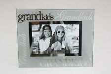 Luxury Frosted Glass / Special Topic Photo frame - Grandkids - 4x6 inch/10x15 cm
