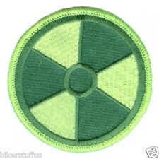 RADIATION PATCH GREEN ON GREEN