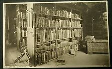 HEREFORD, CHAINED LIBRARY postcard
