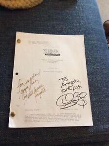 Xena Warrior Princess Original Autographed Shooting Script - When Fates Collide
