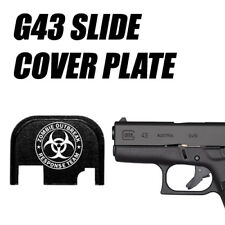 Replacement Slide Cover Plate for Glock G43 - ZOMBIE RESPONSE TEAM BIO