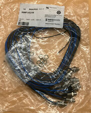 LUMBERG AUTOMATION RSMF 3/0,5M, CABLE, 0.5 METER, MALE, STRAIGHT LOT OF 10