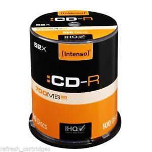 Intenso 52x CD-R 700MB - 100 Discs