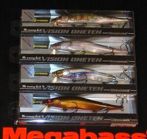 WOW! Megabass Vision Oneten KOMCLUSION Select 4 pc. SET SP-C Colors FREE SHIP