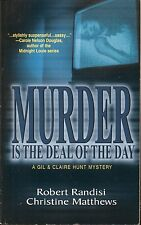 MURDER IS THE DEAL OF THE DAY R RANDISI & C MATTHEWS WORLDWIDE PB 1998 2003