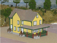 HO Scale A Christmas Story House (3D Printed kit Grey)