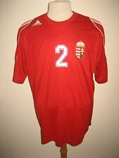 Hungary MATCH WORN vs Italy football shirt soccer trikot maillot trikot size L
