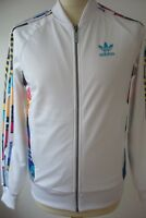 BNWT ADIDAS ORIGINALS SUPERSTAR TEORADO TRACK TOP JACKET WHITE LARGE MEN